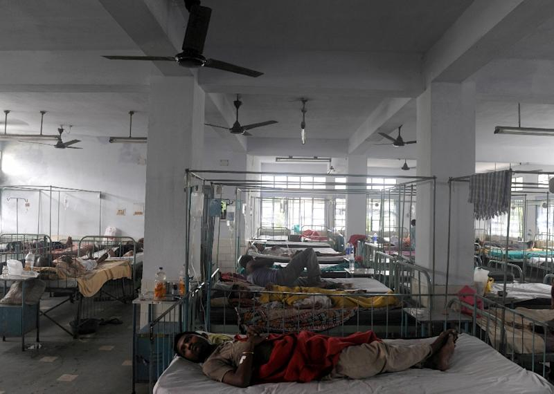 Malpractice is a major problem not only in India's overburdened public health system but also in the burgeoning private sector, according to health activists (AFP Photo/Diptendu Dutta)