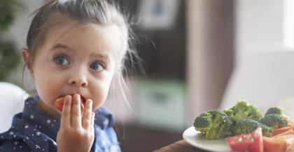 Children are more likely to grow out of picky eating if they have some control over what they eat, study says