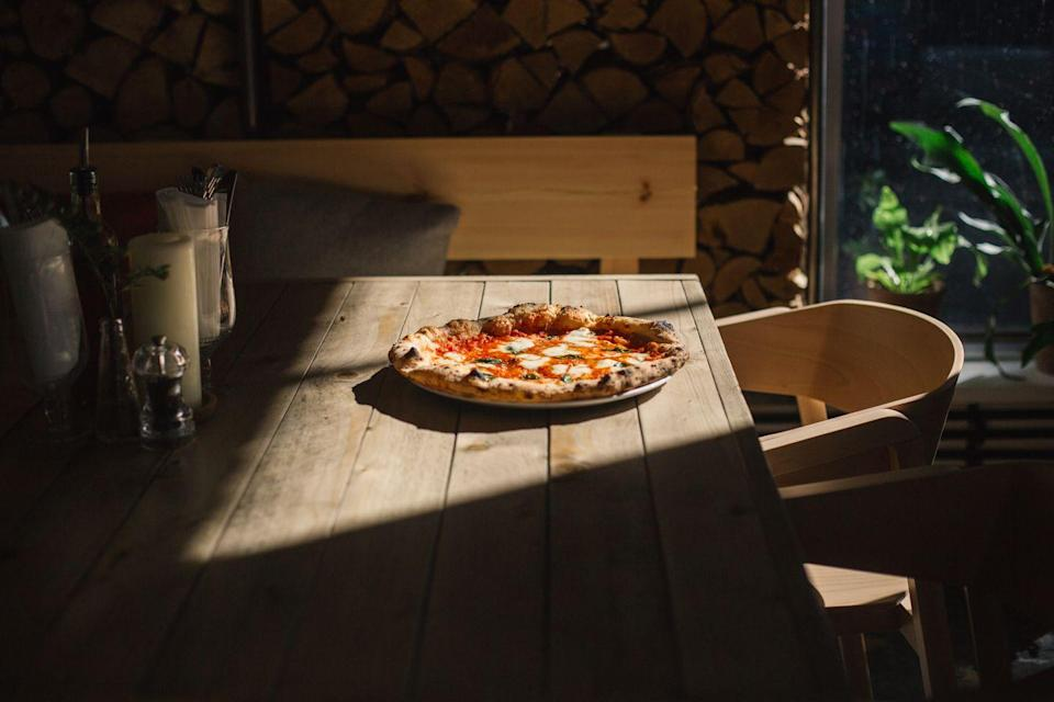 """<p>The 'North's favourite pizzeria' has finally landed in the South of England in Soho. Recently voted the fifth best pizza in Europe and number one in the UK by <a href=""""https://bigseventravel.com/best-pizza-europe/"""" rel=""""nofollow noopener"""" target=""""_blank"""" data-ylk=""""slk:Big7,"""" class=""""link rapid-noclick-resp"""">Big7,</a> Rudy's launched in 2015 after its founders Kate and Jim found success through their pop-up pizza parties before opening their first site in Ancoats, known locally as Little Italy. They built on their passions by cooking with only the finest ingredients, living and breathing purist Neopolitan discipline with trained and accredited Pizzaioles at the helm of their pizza dream team, helping them shoot to popularity in their hometown, Manchester. Now, they've come to London with a bang, offering a 10,000 pizza giveaway, a housewarming gift Rudy offers to Londoners to come and eat pizza at his. Don't worry about missing out on a reservation as half of the restaurant is kept free for walk-ins, ensuring that anyone can still get a taste of their heavenly pizzas. </p><p><a href=""""https://www.rudyspizza.co.uk/soho/"""" rel=""""nofollow noopener"""" target=""""_blank"""" data-ylk=""""slk:www.rudyspizza.co.uk"""" class=""""link rapid-noclick-resp"""">www.rudyspizza.co.uk</a></p>"""