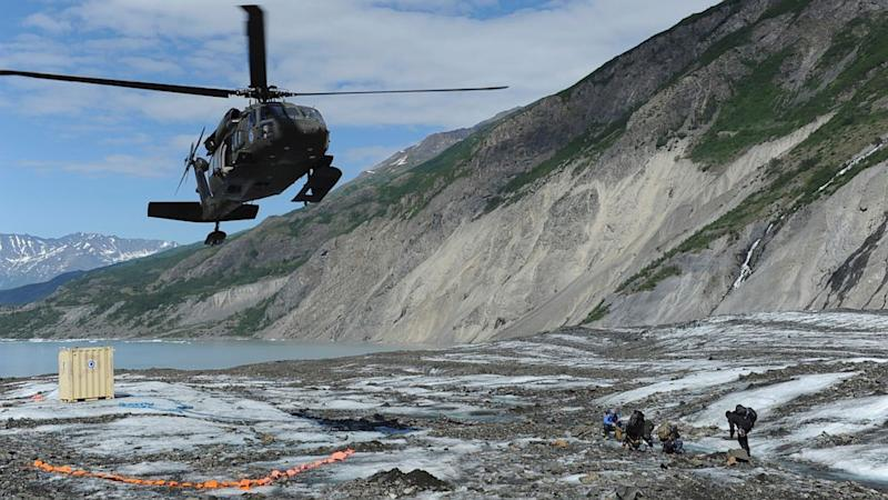 Melting Alaskan Glacier Yields New Remains of Decades-Old Crash