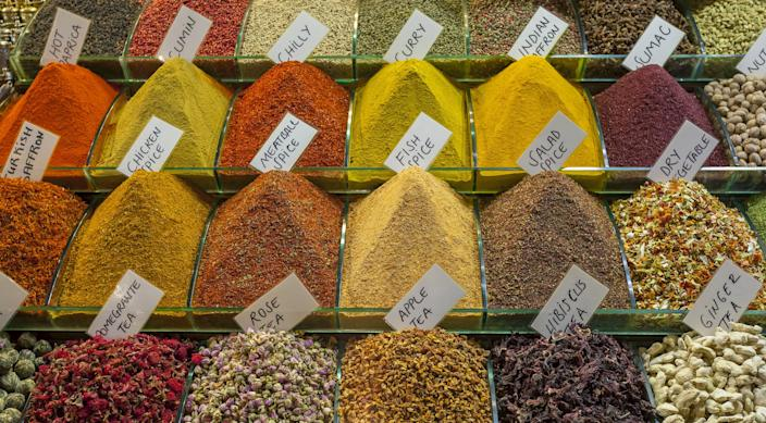 """<h1 class=""""title"""">Spice</h1> <div class=""""caption""""> Guests will be able to stroll through Istanbul's aromatic spice market. </div> <cite class=""""credit"""">Photo: Getty Images/Ihsan Eroglu</cite>"""