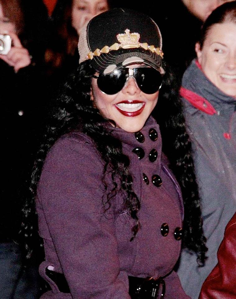 "Lil Kim should do herself a lil' favor and stop dressing like La Toya Jackson. Just sayin'. ActionPress/<a href=""http://www.x17online.com"" target=""new"">X17 Online</a> - November 4, 2009"