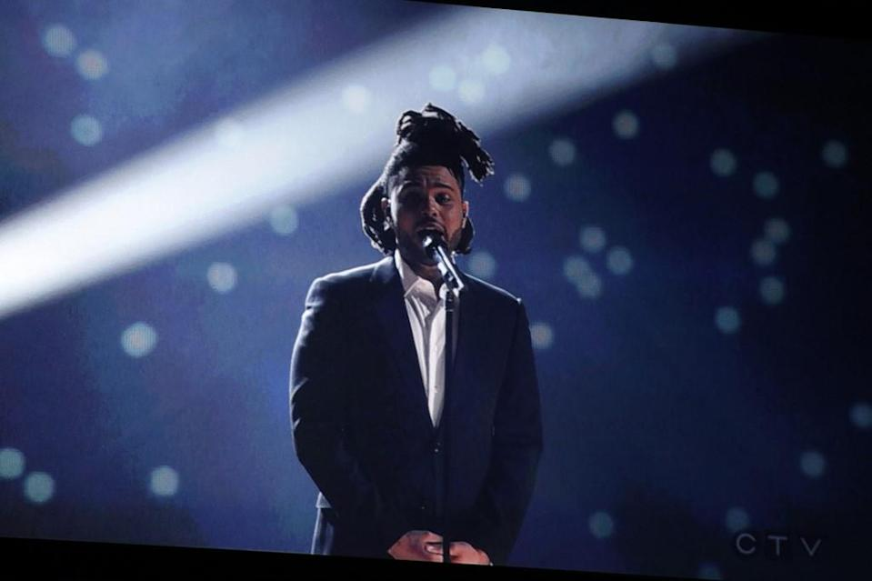 Canadian singer The Weeknd