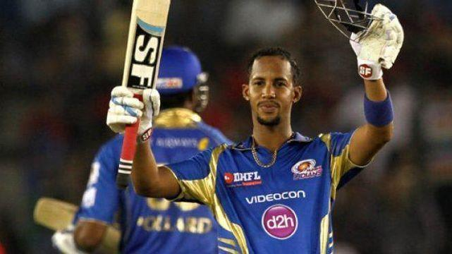 Simmons topped the batting charts of MI