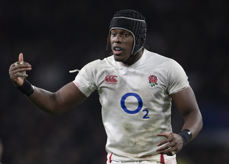 LONDON, ENGLAND - MARCH 07: Maro Itoje of England during the 2020 Guinness Six Nations match between England and Wales at Twickenham Stadium on March 07, 2020 in London, England. (Photo by Visionhaus)