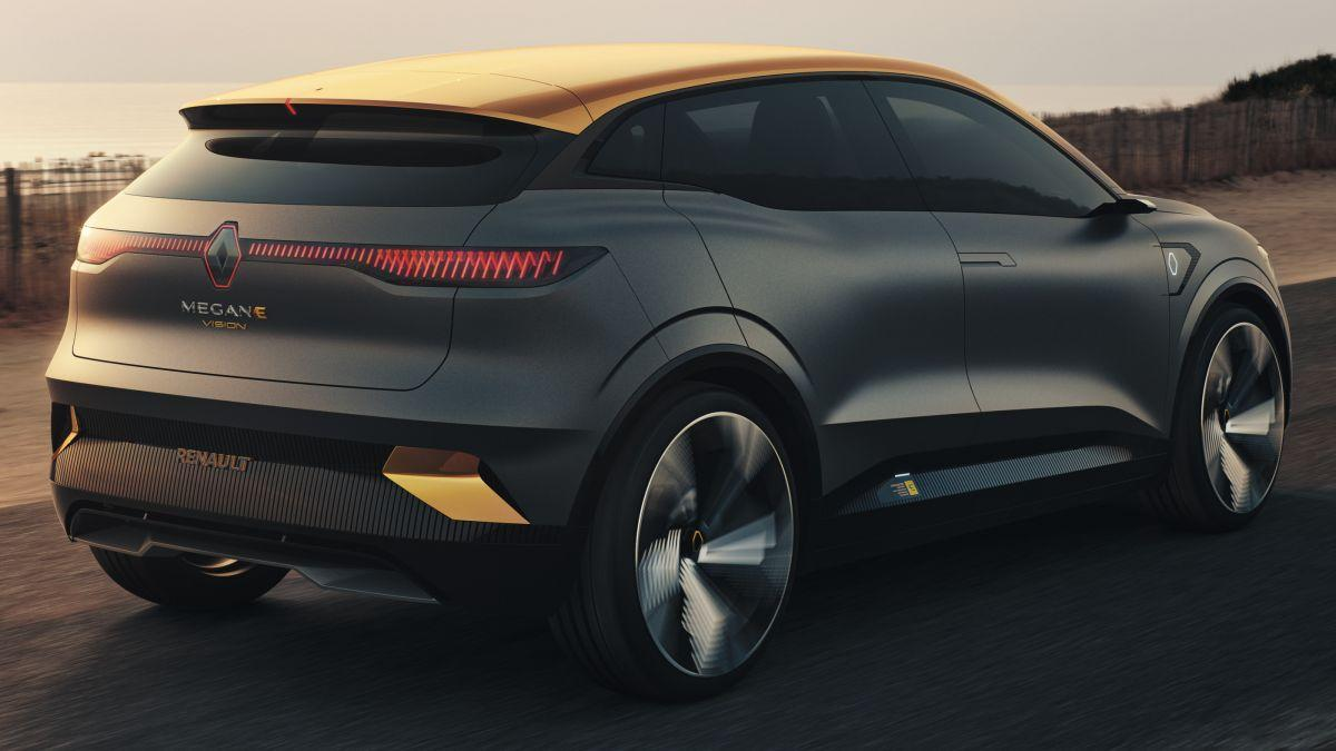 Renault's Mégane eVision concept previews its future EV lineup