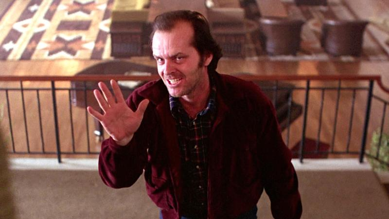 Jack Nicholson stars in 'The Shining'. (Credit: Warner Bros)