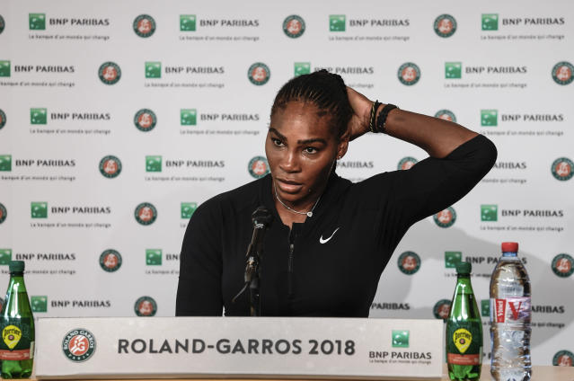 "USADA might be unfairly targeting <a class=""link rapid-noclick-resp"" href=""/olympics/rio-2016/a/1132744/"" data-ylk=""slk:Serena Williams"">Serena Williams</a>. (AP Photo)"