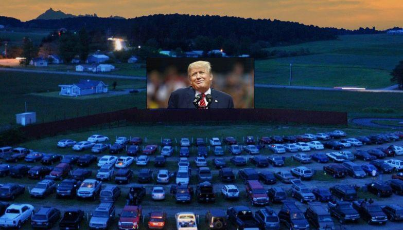 Donald Trump Planning to Hold Campaign Rallies At Drive-In Movie Theaters