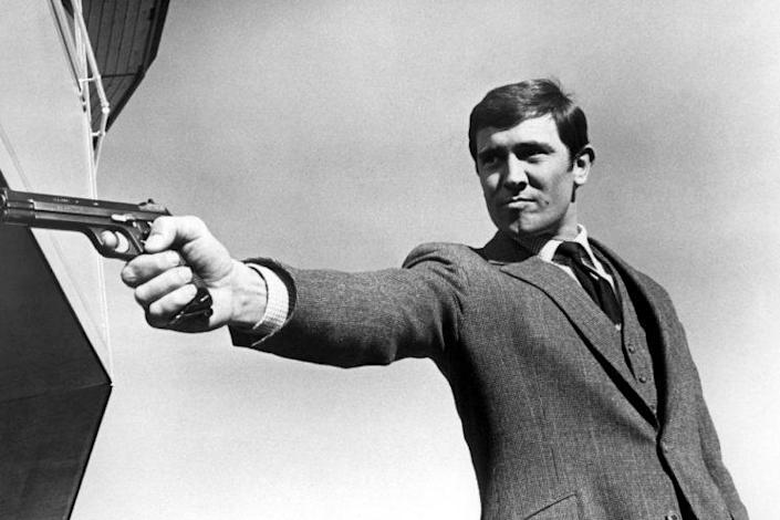 Lazenby… has admitted sleeping with 1000 women in the 60s – Credit: Rex Features