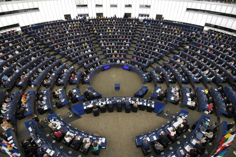 The new MEPs voted by secret ballot to elect the successor to Antonio Tajani as president of the European Parliament