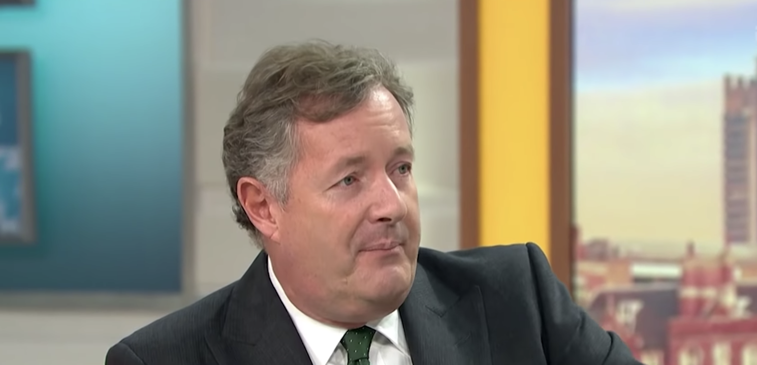Piers Morgan on Good Morning Britain. (ITV)