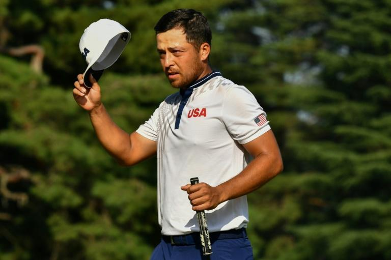 America's Xander Schauffele tops the leaderboard after three rounds at the Olympic golf tournament