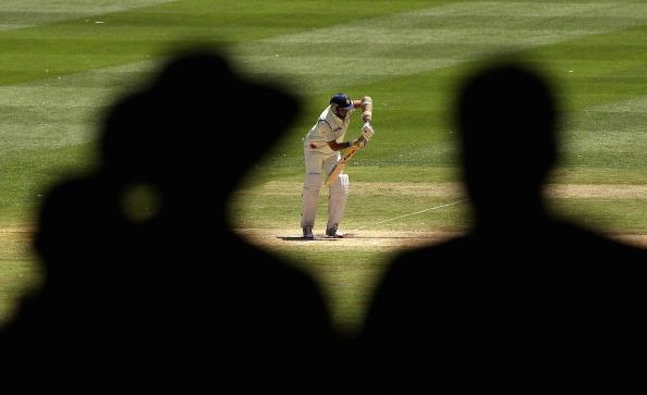 MELBOURNE, AUSTRALIA - DECEMBER 29:  VVS Laxman of India bats during day four of the First Test match between Australia and India at the Melbourne Cricket Ground on December 29, 2011 in Melbourne, Australia.  (Photo by Quinn Rooney/Getty Images)