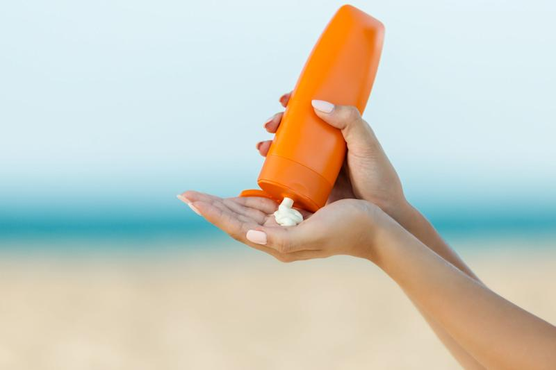 Applying suncream once a day is not recommended: Getty Images