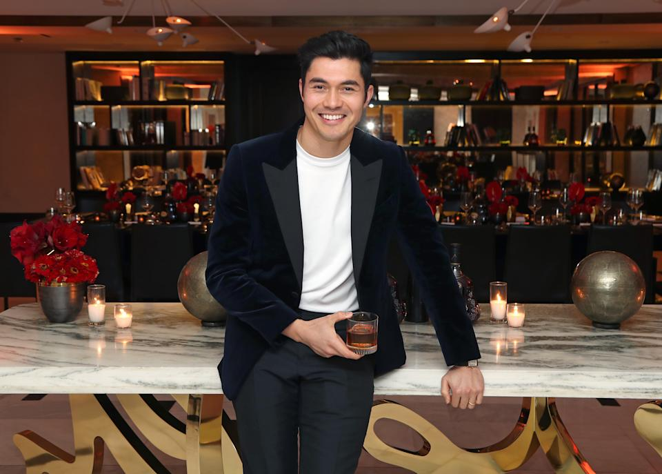 """Henry Golding attends Hennessy's """"Greatness is an Odyssey"""" content series premiere on December 10, 2019. (Photo by Jerritt Clark/Getty Images for Hennessy)"""