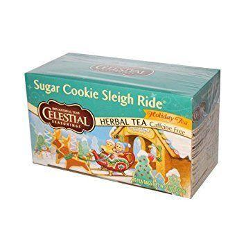 """<p><strong>Celestial Seasonings</strong></p><p>amazon.com</p><p><strong>$6.49</strong></p><p><a href=""""http://www.amazon.com/dp/B00NAZEFLM/?tag=syn-yahoo-20&ascsubtag=%5Bartid%7C10050.g.2190%5Bsrc%7Cyahoo-us"""" rel=""""nofollow noopener"""" target=""""_blank"""" data-ylk=""""slk:Shop Now"""" class=""""link rapid-noclick-resp"""">Shop Now</a></p><p>Sugar cookie tea? Count us in. We love the idea of popping a box of this herbal tea into your family's stockings, and then enjoying it together over Christmas brunch. </p>"""
