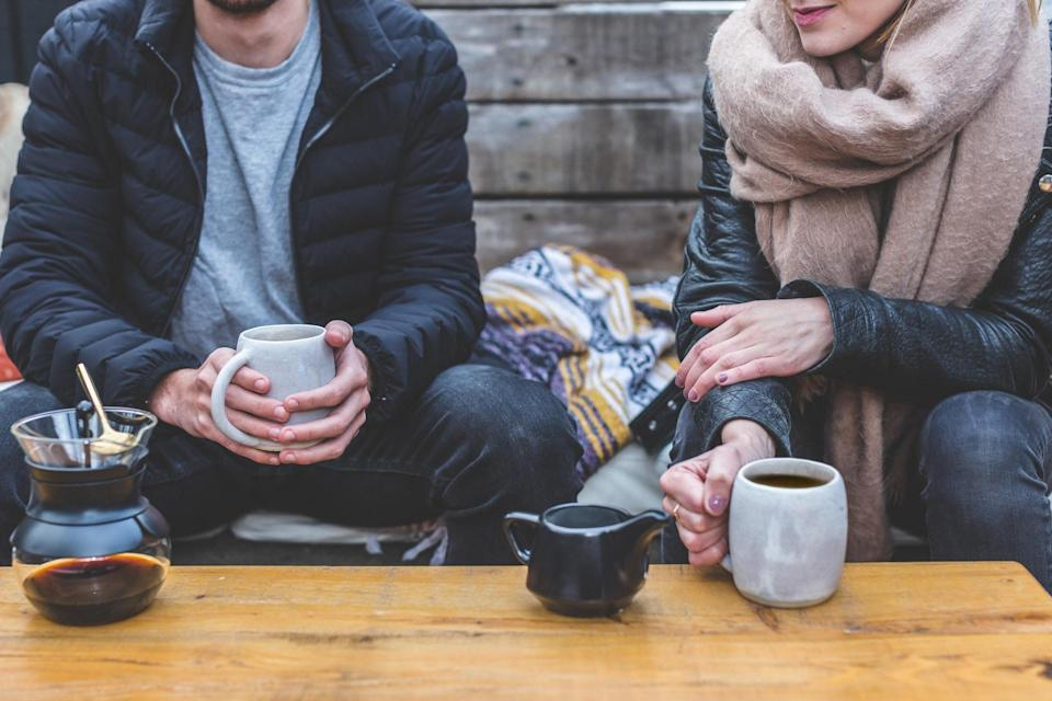 Time to prescribe yourself a coffee date [Photo: Pexels]