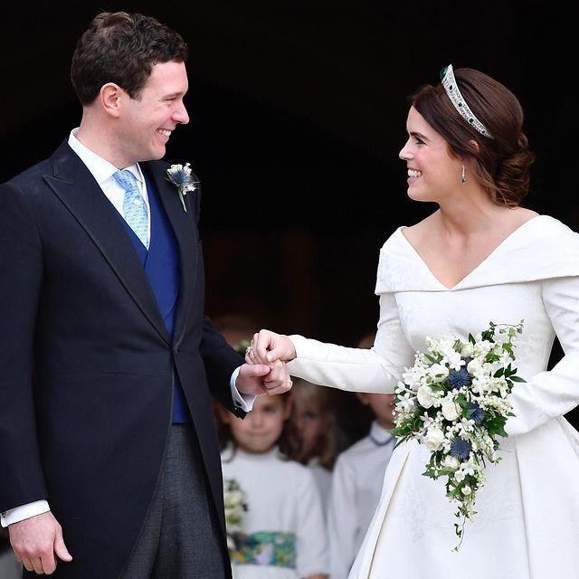 """<p>On Friday September 25, the Royal Family announced that Princess Eugenie and her husband of almost a year Jack Brooksbank are to become parents.</p><p>According to social media posts sharing the news, the pair will welcome their little one in early 2021.</p><p>'The Duke of York and Sarah, Duchess of York, Mr and Mrs George Brooksbank, The Queen and The Duke of Edinburgh are delighted with the news,' the announcement reads.</p><p><a href=""""https://www.instagram.com/p/CFjXC8JHWrv/?utm_source=ig_web_copy_link"""" rel=""""nofollow noopener"""" target=""""_blank"""" data-ylk=""""slk:See the original post on Instagram"""" class=""""link rapid-noclick-resp"""">See the original post on Instagram</a></p>"""