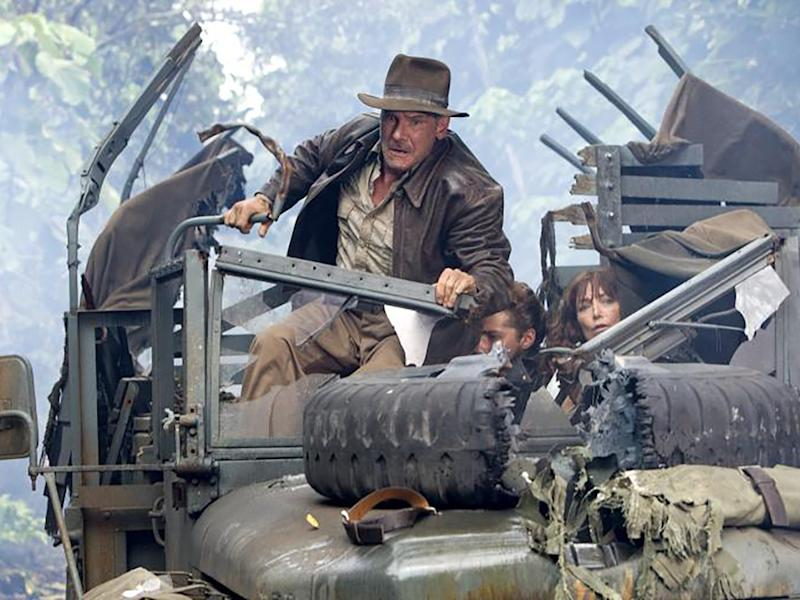 "Geht es für Harrison Ford wirklich schon bald ans ""Indiana Jones 5""-Set? (Bild: 2008 Lucasfilm Ltd. All Rights Reserved. / David James)"