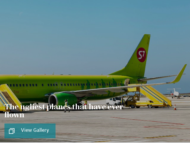 The ugliest planes that have ever flown