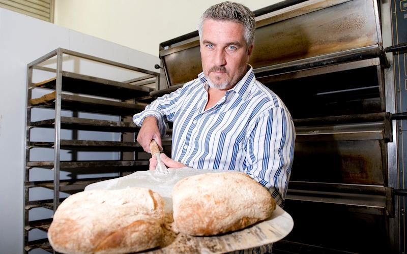 Paul Hollywood bread Great British Bake Off - Credit: Christopher Pledger