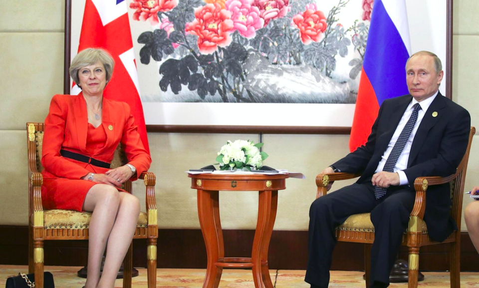 <em>Downing Street has welcomed the sanctions on Russia (Rex)</em>