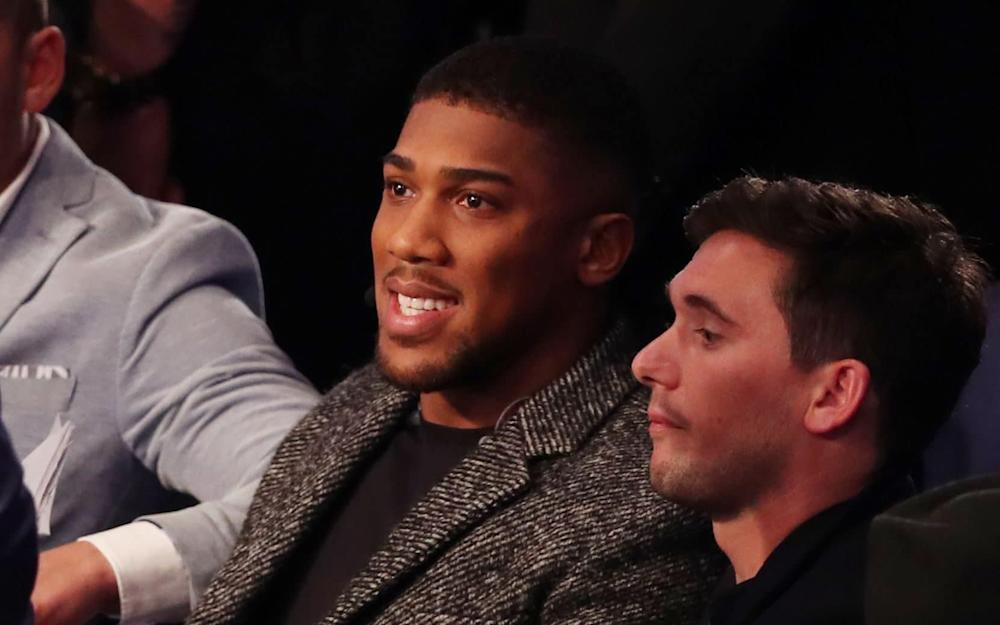 Anthony Joshua  - Credit: REX