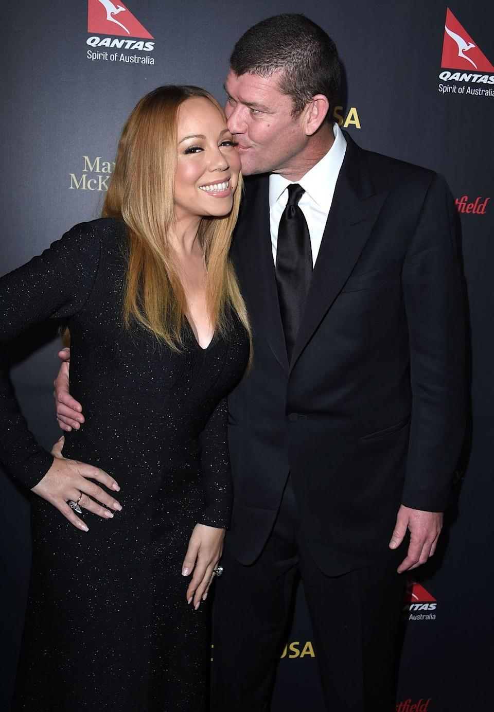"""<p>Long after the end of their engagement, Mariah still couldn't get rid of James, even in conversation. During a press conference in Tel Aviv, Mimi was asked about her ex billionaire fiancé's alleged illegal dealings with former Israeli Prime Minister Benjamin Netanyahu. </p><p>'I don't know where the motherfucker is,' Carey said, via <a href=""""https://www.hollywoodreporter.com/news/mariah-carey-james-packer-controversy-israel-1016877"""" rel=""""nofollow noopener"""" target=""""_blank"""" data-ylk=""""slk:The Hollywood Reporter"""" class=""""link rapid-noclick-resp"""">The Hollywood Reporter</a>. 'How am I supposed to know? I don't know, for real. I really have no idea about the political stuff that goes on. I don't pay attention to it.' </p>"""