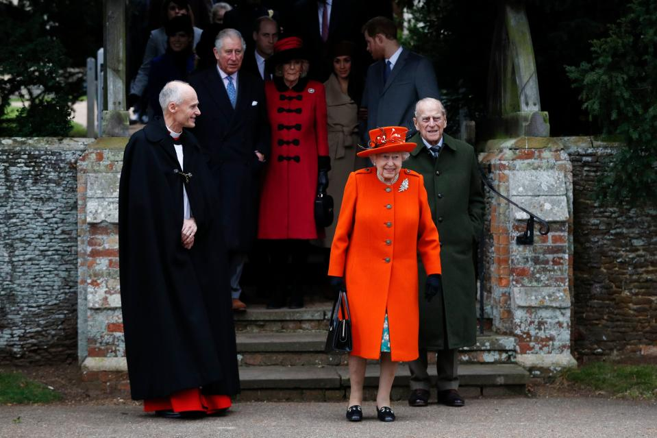 The royal family won't attend church in Sandringham for the first time in 32 years this year. Photo: Getty