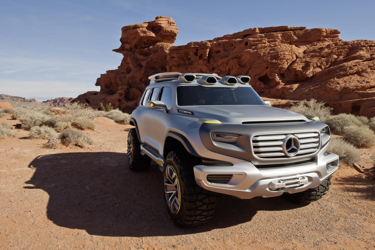 The Mercedes Ener-G-Force concept, developed for the 2012 Los Angeles Auto Show Design Challenge
