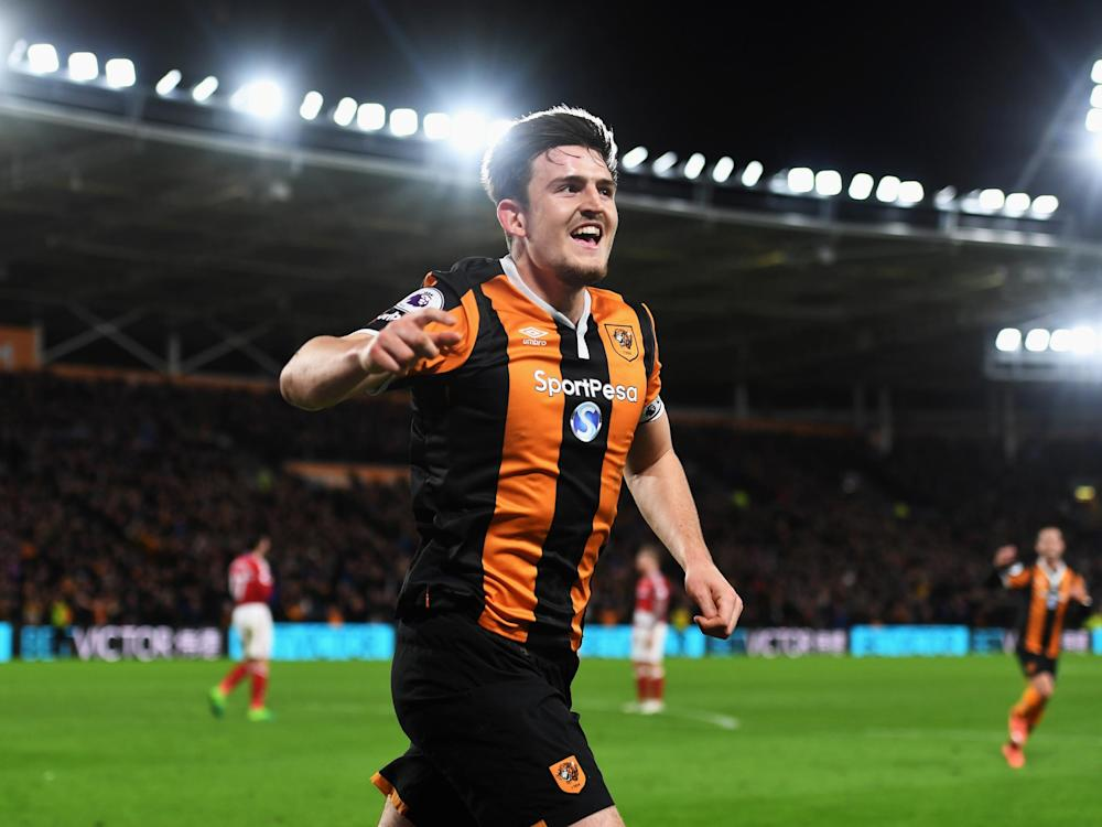 Harry Maguire finished the scoring to secure the points: Getty
