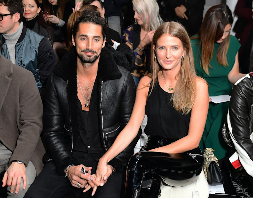Millie Mackintosh and husband Hugo Taylor have welcomed a baby girl. (PA Images)