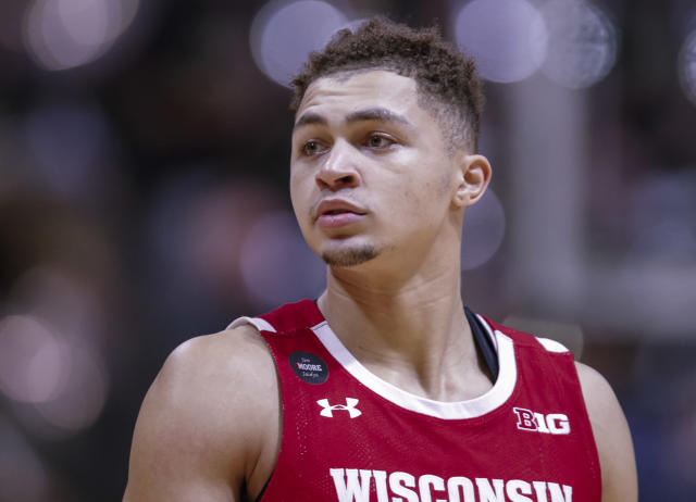 Kobe King, the Badgers' second-leading scorer, announced on Wednesday that he is leaving the program. (Michael Hickey/Getty Images)