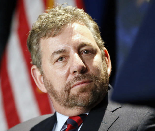 James Dolan is one of two NBA owners named in a lawsuit alleging they helped cover up Harvey Weinstein's alleged sexual harassment and assault. (AP)