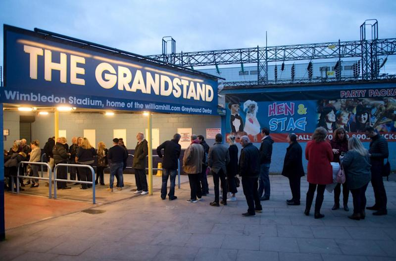 Not the draw it was: dwindling crowds mean the stadium, the last of its kind in London, is closing (AFP/Getty Images)