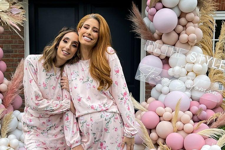 Stacey Solomon, right, has a clothing collection with In The Style (In The Style)