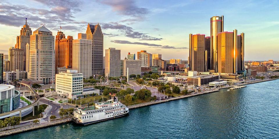 """<p><a href=""""https://www.bestproducts.com/fun-things-to-do/g23405024/top-things-to-do-in-detroit/"""" rel=""""nofollow noopener"""" target=""""_blank"""" data-ylk=""""slk:Motor City"""" class=""""link rapid-noclick-resp"""">Motor City </a>is definitely getting its groove back. New hotels have opened, including the <a href=""""https://www.shinolahotel.com/"""" rel=""""nofollow noopener"""" target=""""_blank"""" data-ylk=""""slk:Shinola Hotel"""" class=""""link rapid-noclick-resp"""">Shinola Hotel</a> (read about its gorgeous design <a href=""""https://www.domino.com/content/shinola-hotel-detroit/"""" rel=""""nofollow noopener"""" target=""""_blank"""" data-ylk=""""slk:here"""" class=""""link rapid-noclick-resp"""">here</a>), as well as the <a href=""""https://go.redirectingat.com?id=74968X1596630&url=https%3A%2F%2Fwww.tripadvisor.com%2FHotel_Review-g42139-d12130393-Reviews-Detroit_Foundation_Hotel-Detroit_Michigan.html&sref=https%3A%2F%2Fwww.redbookmag.com%2Flife%2Fg37132507%2Fup-and-coming-travel-destinations%2F"""" rel=""""nofollow noopener"""" target=""""_blank"""" data-ylk=""""slk:Foundation Hotel"""" class=""""link rapid-noclick-resp"""">Foundation Hotel</a>, housed in the old Detroit Fire Department headquarters (its <a href=""""https://go.redirectingat.com?id=74968X1596630&url=https%3A%2F%2Fwww.tripadvisor.com%2FRestaurant_Review-g42139-d12491184-Reviews-The_Apparatus_Room-Detroit_Michigan.html&sref=https%3A%2F%2Fwww.redbookmag.com%2Flife%2Fg37132507%2Fup-and-coming-travel-destinations%2F"""" rel=""""nofollow noopener"""" target=""""_blank"""" data-ylk=""""slk:Apparatus Room"""" class=""""link rapid-noclick-resp"""">Apparatus Room</a> is helmed by Michelin-starred chef Thomas Lents). </p><p>Plus, farm-to-table restaurants and craft breweries like <a href=""""https://www.urbanrest.com/"""" rel=""""nofollow noopener"""" target=""""_blank"""" data-ylk=""""slk:Urbanrest Brewing Co."""" class=""""link rapid-noclick-resp"""">Urbanrest Brewing Co.</a> are popping up all over town.</p>"""