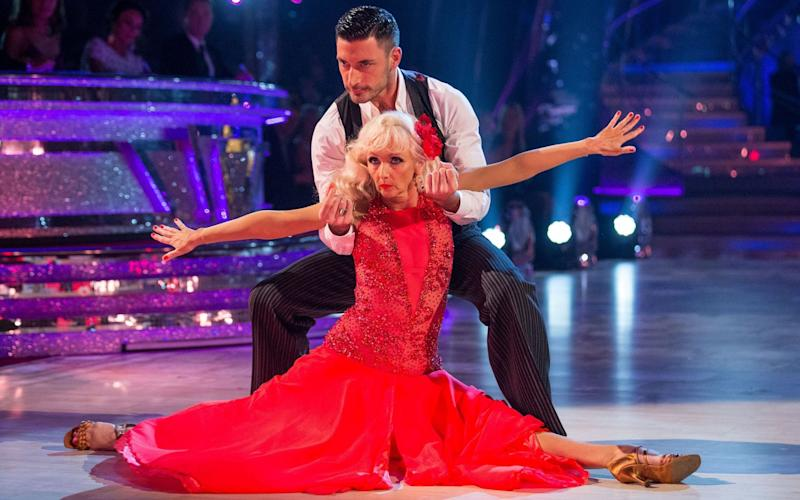 Debbie McGee has impressed Strictly viewers with her flexibility  - PA