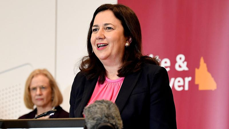 Seen here, Queensland premier Annastacia Palaszczuk.