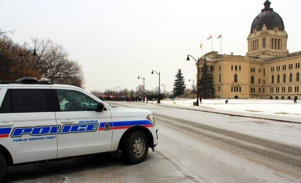 Regina Police say it is anticipating charges against the driver of the allegedly stolen vehicle (not pictured). (Cory Coleman/CBC - image credit)