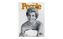 <p>In memory of Princess Diana, <em>People</em> magazine ran a cover with the late royal smiling on the front back in 1997. <em>[Photo: People]</em> </p>