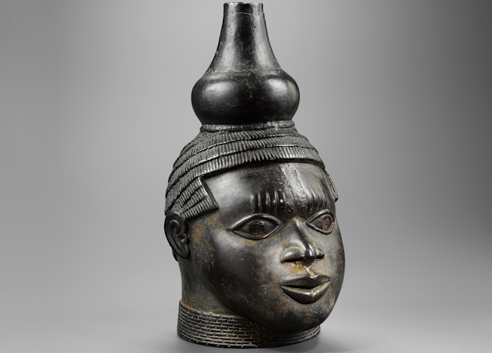 The Benin Bronze from Ernest Ohly's collection that sold for £10m