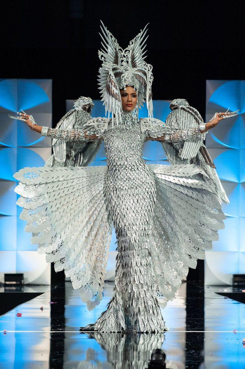 Miss Universe Philippines Gazini Ganados is the winner of the National Costume award. — Picture via Twitter