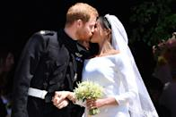 "<p><a href=""https://www.townandcountrymag.com/society/tradition/a20753874/meghan-markle-royal-wedding-veil-secret-meaning/"" rel=""nofollow noopener"" target=""_blank"" data-ylk=""slk:See more about their wedding here."" class=""link rapid-noclick-resp"">See more about their wedding here.</a></p>"