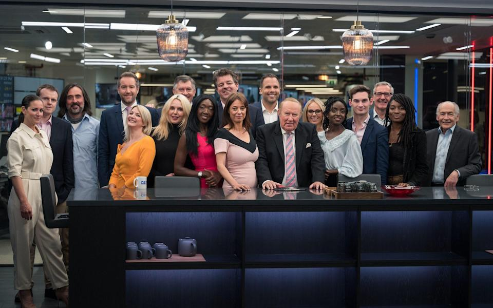 GB News presenters before the channel launched in June
