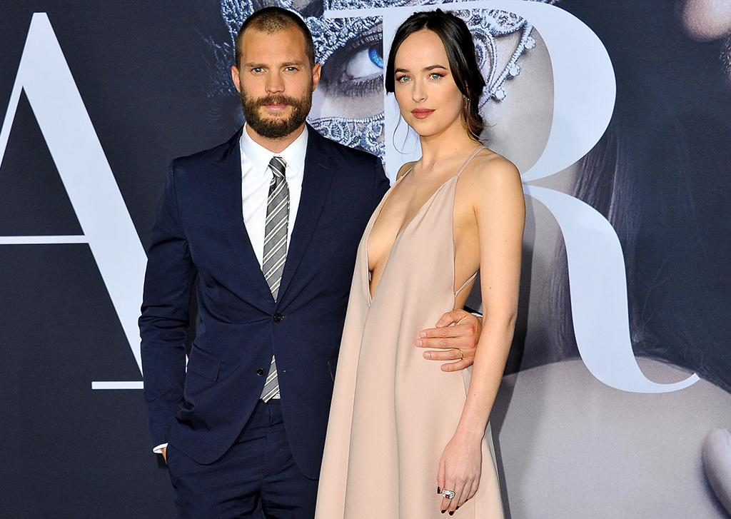 <p>The two stars reunite onscreen for the sexy sequel to the 2015 hit.(Photo: Allen Berezovsky/WireImage) </p>