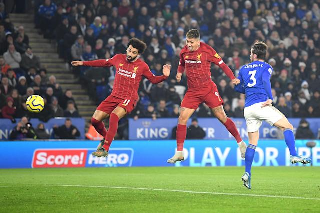 Roberto Firmino scores his team's first goal (Credit: Getty Images)