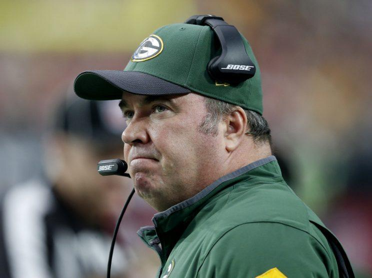 Mike McCarthy's Packers are just 4-5 this season (AP)