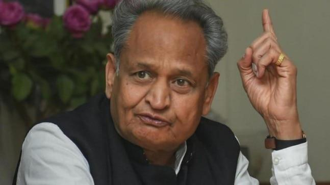 Rajasthan Chief Minister Ashok Gehlot said his government had spent Rs 80 crore in distributing free laptops, but BJP spent Rs 250 crore but unfortunately added inbuilt software in which Raje's picture pops up on the screen the moment the laptop is opened.